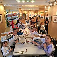 Волгоградскую областную детскую художественную галерею