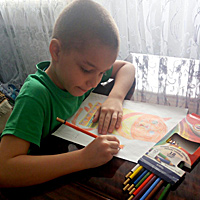Виртуальные выставки детских рисунков