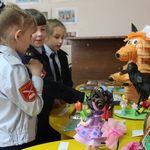 В выставочном зале Центра детского творчества