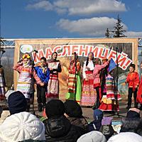 В праздничном концерте приняли участия объединения ЦДТ
